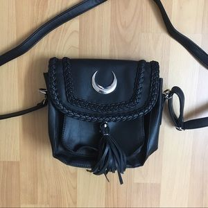 Crescent Moon Goth Witch Purse 🖤